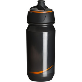 Tacx Shanti Twist Drinking Bottle 500ml, smoke/orange
